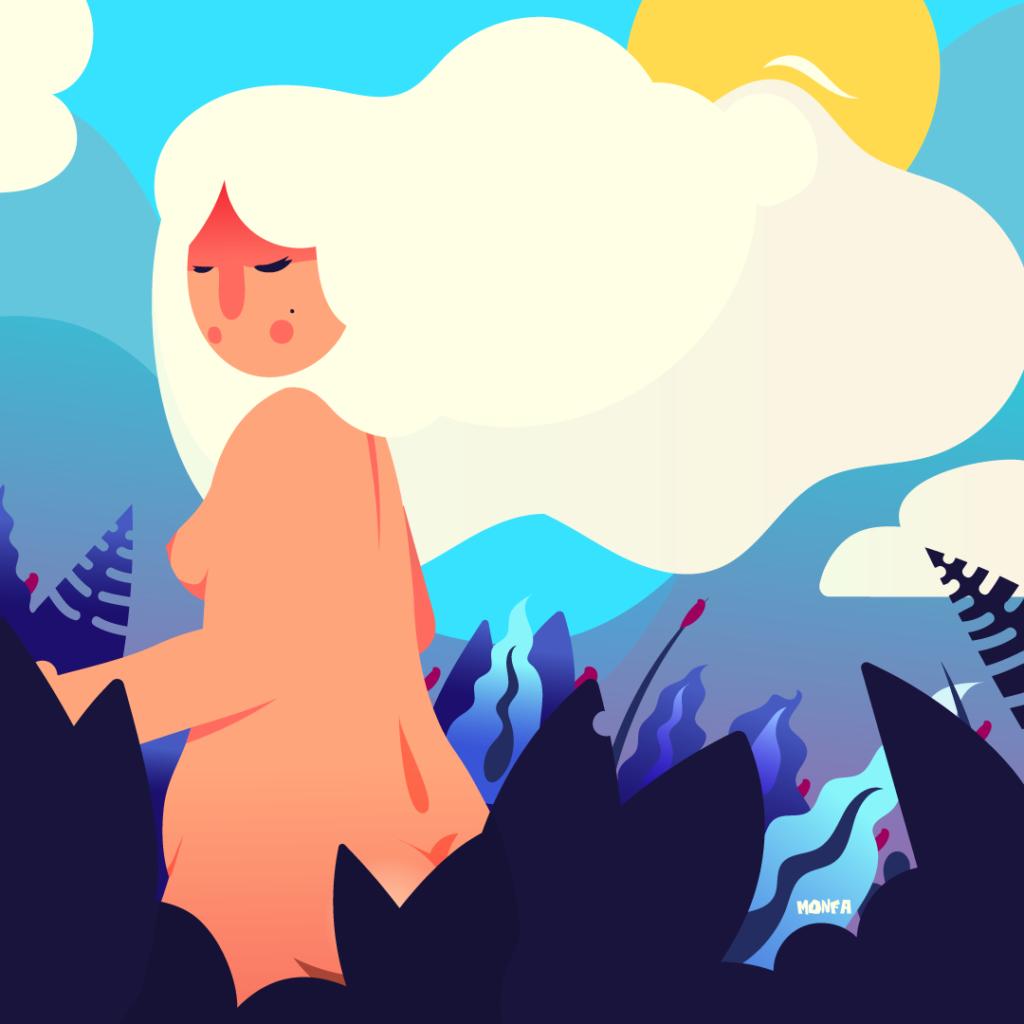 monfa ilustración